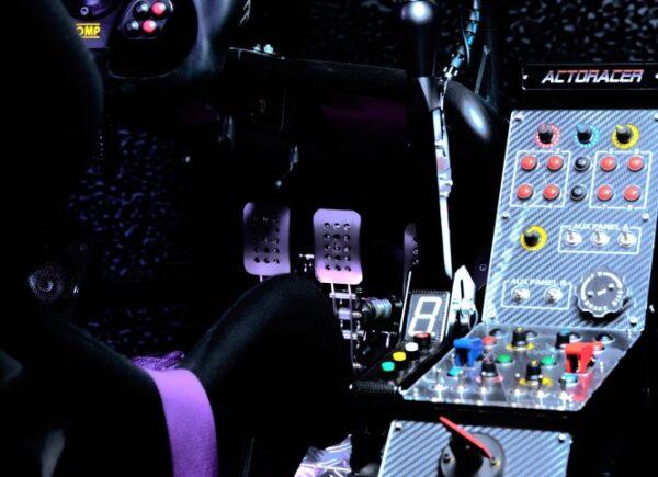 racing car benz rennsimulator bonn 2